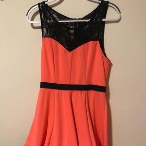 Dresses & Skirts - Neon Orange Short Dress